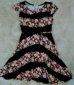 Other - Black Floral Dress